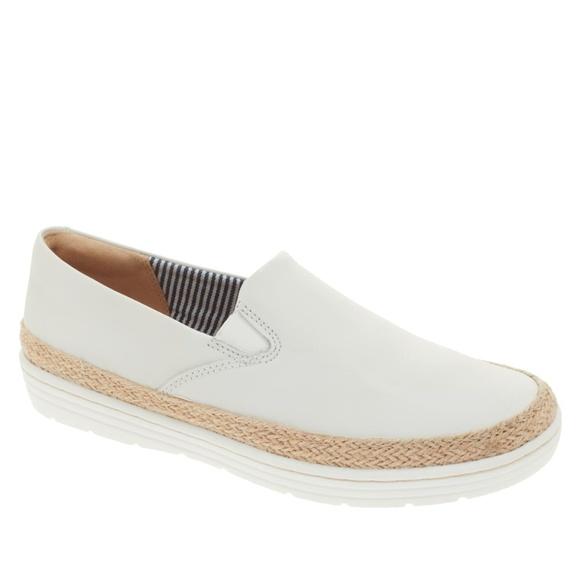 Marie Pearl Leather Slipon Sneaker 85w